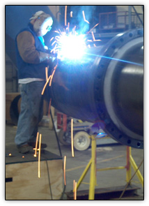 Pipe weld